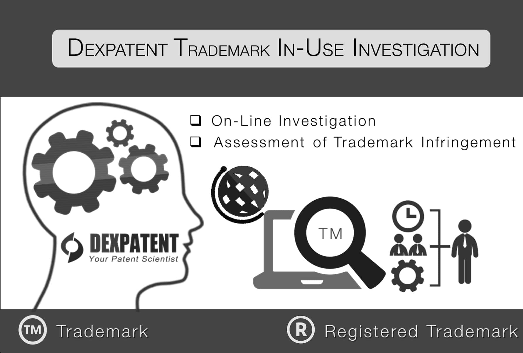 Trademark online In-use Investigation